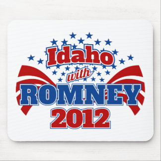 Idaho with Romney 2012 Mouse Pad