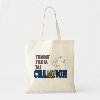 Idahoan and a Champion Canvas Bags