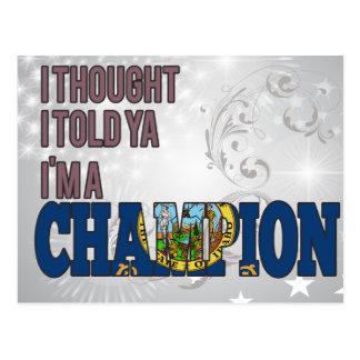 Idahoan and a Champion Postcard