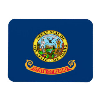 Idahoan Flag Flexible Magnets