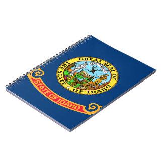Idahoan Flag Spiral Notebook