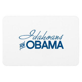 Idahoans for Obama -.png Rectangular Magnet