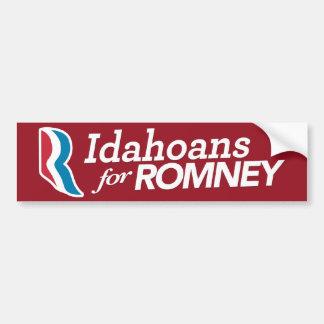 Idahoans For Romney Bumper Sticker CUSTOM COLOR Car Bumper Sticker