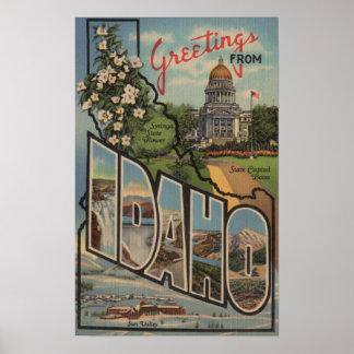 IdahoLarge Letter ScenesIdaho Poster