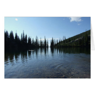 Idaho's East Gospel Lake Greeting Card