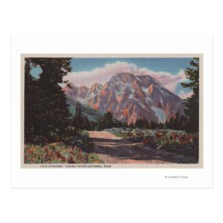 IdahoView del nacional magnífico ParkIdaho de Tarjetas Postales
