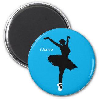 iDance (azul) Imán Redondo 5 Cm
