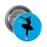 iDance (Blue) Pinback Button