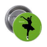 iDance (Green) Pinback Button