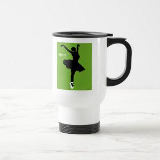 iDance (Green) Travel Mug
