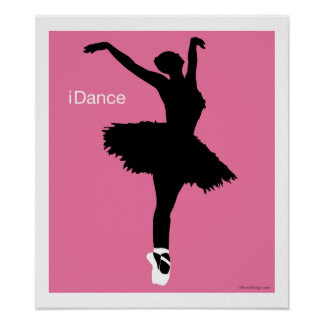 iDance rosa Posters