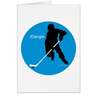 iDangle (hockey) Tarjeta De Felicitación