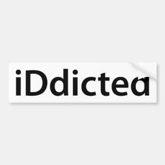 iDdicted Bumper Sticker