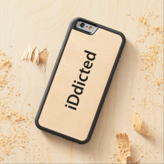 iDdicted Carved® Maple iPhone 6 Bumper