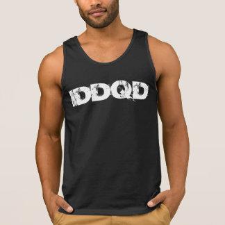 IDDQD White Font Tank Top
