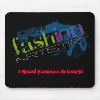 idea2, I read FashionArtistry.com!, I Read Fash... Mouse Pad