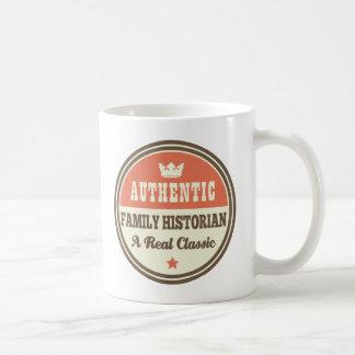 Idea auténtica del regalo del vintage del tazas de café