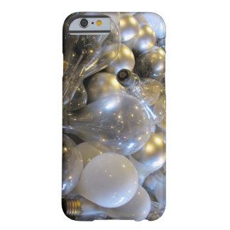 Idea brillante - bombilla - caso del iPhone 6 Funda De iPhone 6 Barely There