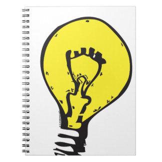 ¡IDEA BRILLANTE DE LA BOMBILLA!! LIBRO DE APUNTES