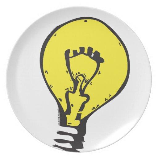¡IDEA BRILLANTE DE LA BOMBILLA!! PLATO DE CENA
