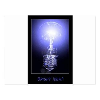 ¿Idea brillante? Postales