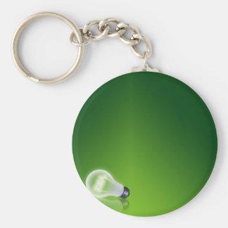 idea Bulb Keychain