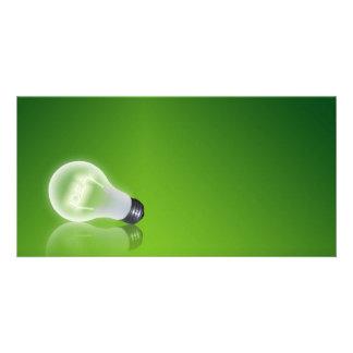 idea Bulb Customized Photo Card