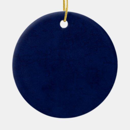 Idea casera de encargo del regalo del fondo azul d ornamente de reyes