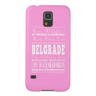 Idea del regalo de Belgrado única, Serbia Carcasas Para Galaxy S5