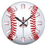Idea del regalo de la fan de deportes de equipo de reloj