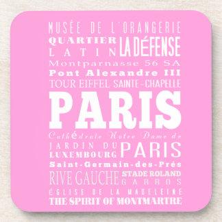 Idea del regalo de París única, Francia Posavasos