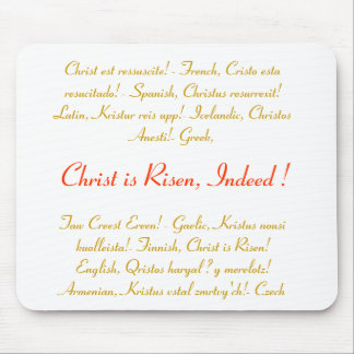 Idea del regalo de Pascua - Mousepad - alegría ili