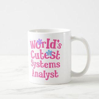 Idea del regalo del analista de sistemas para ella tazas de café