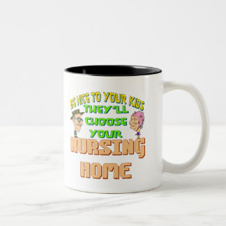Idea del regalo del día de padres taza de dos tonos
