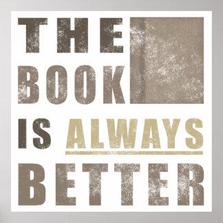 Idea del regalo del humor del libro póster