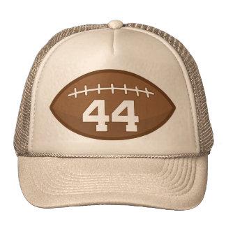 Idea del regalo del número 44 del jersey del fútbo gorro de camionero
