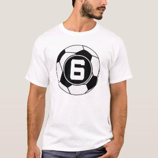 Idea del regalo del número 6 del jersey de fútbol