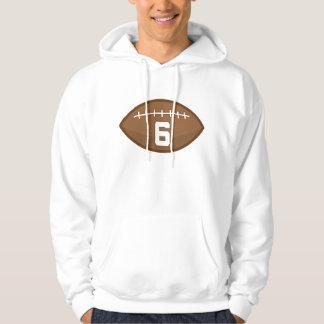Idea del regalo del número 6 del jersey del fútbol