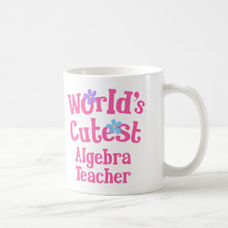 Idea del regalo del profesor de la álgebra para taza clásica