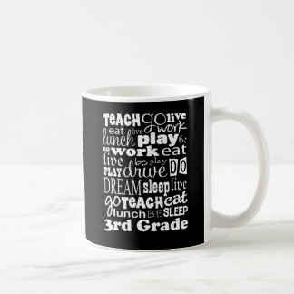 Idea del regalo para el 3ro profesor del grado taza clásica