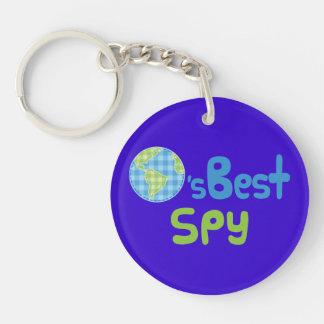 Idea del regalo para el espía mundos mejores llaveros