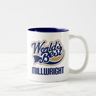 Idea del regalo para el Millwright (mundos mejores Taza Dos Tonos