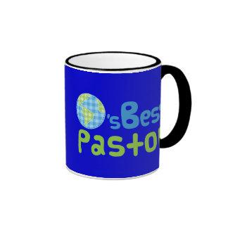 Idea del regalo para el pastor (mundos mejores) tazas