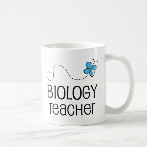Idea del regalo para el profesor de biología (mari tazas