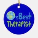 Idea del regalo para el terapeuta (mundos mejores) ornamentos de reyes