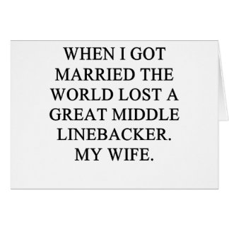 idea divertida del divvorce de s para usted tarjeta de felicitación