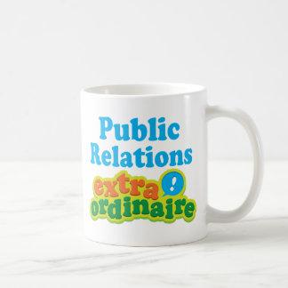 Idea Extraordinaire del regalo de las relaciones p Taza Básica Blanca