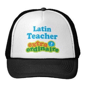 Idea Extraordinaire del regalo del profesor latino Gorras De Camionero