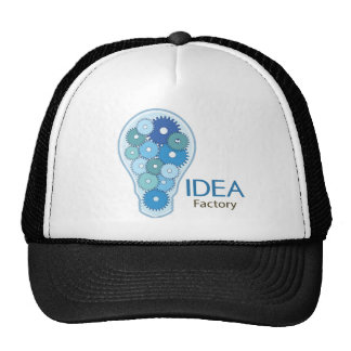 Idea Factory Blue Trucker Hat