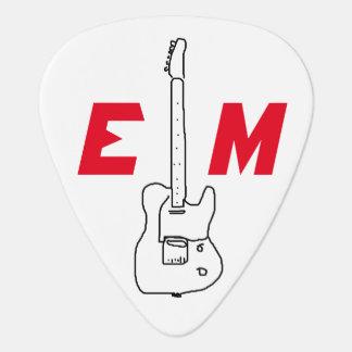 idea fresca de la guitarra para el púa de guitarra